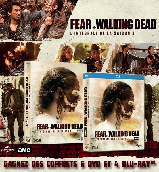 Concours : gagnez des DVD et Blu-Ray de Fear the Walking Dead Saison 3