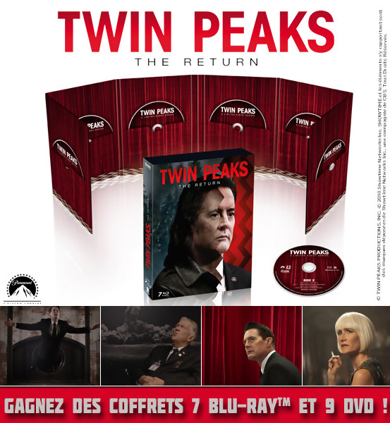 Concours : Gagnez des Coffrets DVD et Blu-Ray de Twin Peaks Saison 3