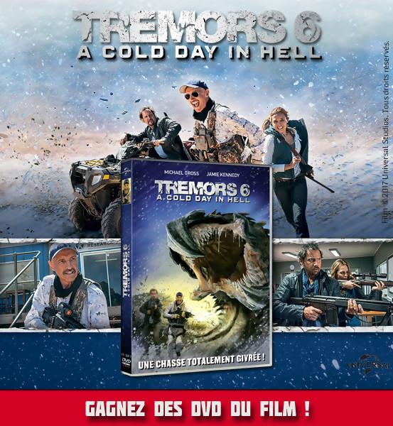 Jeu Concours : Gagnez des DVD du film TREMORS 6