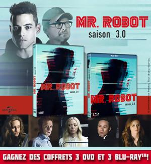 Concours : Gagnez des Coffrets DVD et Blu-Ray de Mr Robot Saison 3