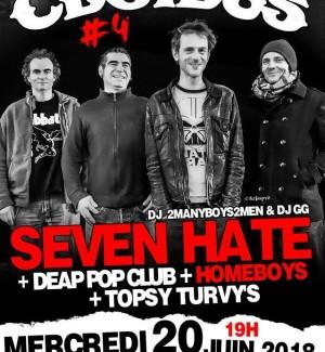 Concours : des places de concert pour Seven Hate au Gibus