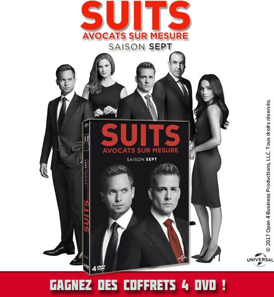 Jeu Concours : Gagnez des DVD de la série SUITS Saison 7