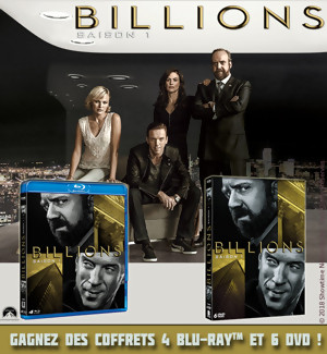 Jeu Concours : Gagnez des DVD et Blu-Ray de la série BILLIONS