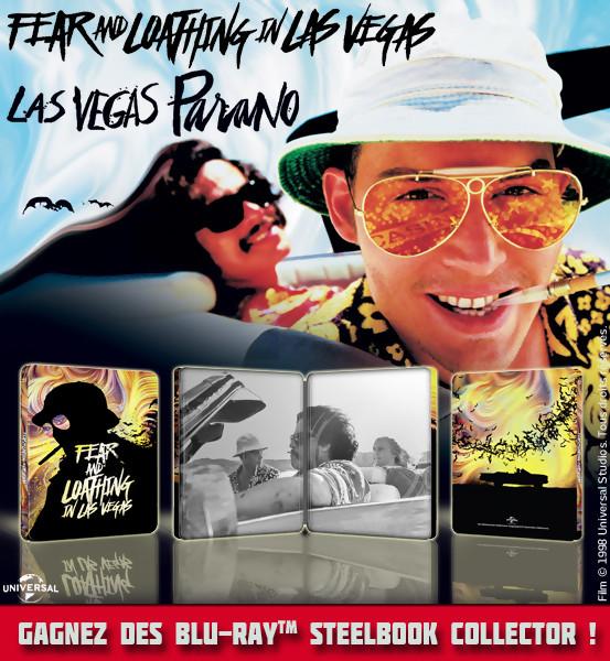 Concours : Gagnez des Blu-Ray Steelbook édition limitée de Las Vegas Parano
