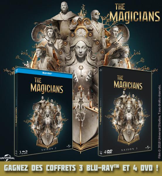 Jeu Concours : des coffrets de The Magicians saison 3 à gagner !