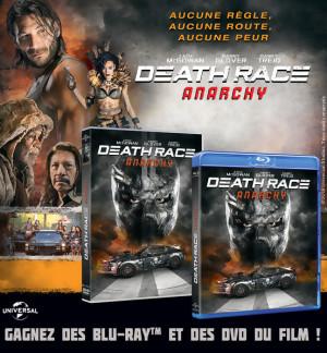 Jeu Concours Death Race Anarchy : des DVD et Blu-Ray à gagner