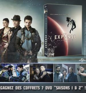 Jeu concours THE EXPANSE Saisons 1 & 2 : des coffrets DVD à gagner