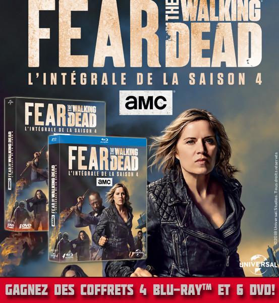 JEU CONCOURS FEAR THE WALKING DEAD saison 4 : des DVD et Blu-Ray à gagner