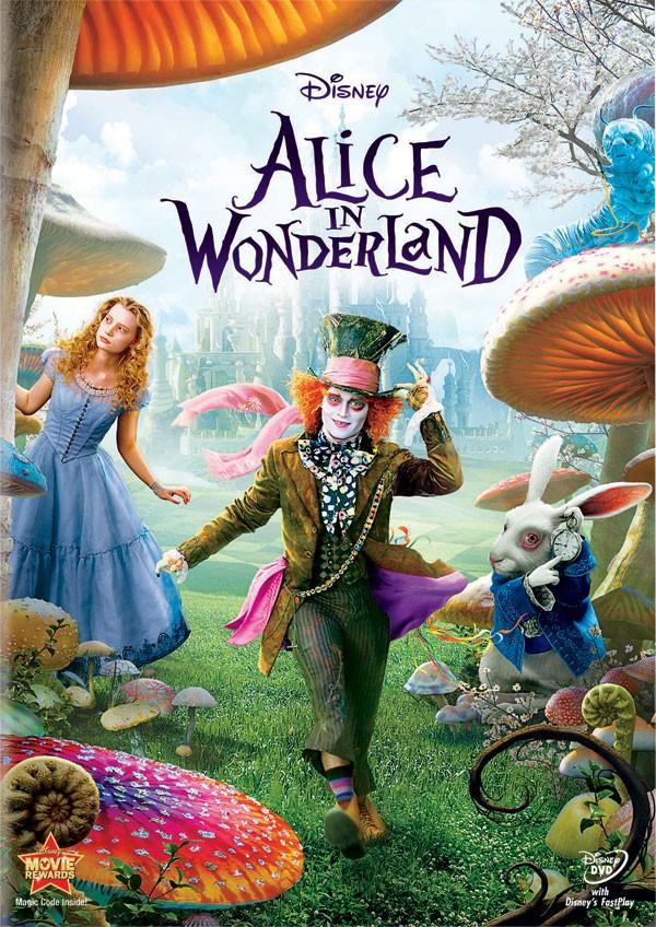 Alice Au Pays Des Merveilles En Dvd Amp Blu Ray