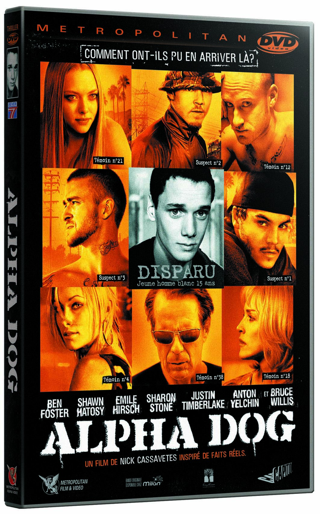 What Are Dts >> Alpha Dog en Dvd & Blu-Ray