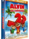 DVD Alvin et les Chipmunks 1, 2 &amp; 3 DVD
