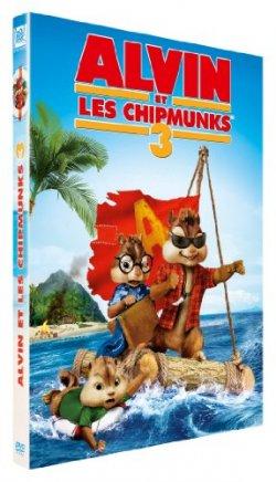 Alvin et les Chipmunks 3 DVD