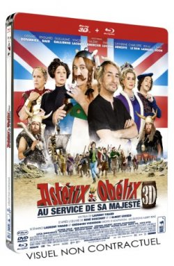 Asterix et Obelix : au service de Sa Majesté - Blu Ray 3D