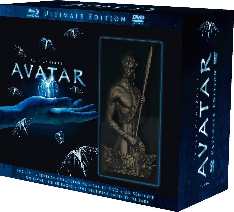 Aperçu Du Coffret Blu-Ray Français Limité D'Avatar Ultimate