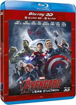 Avengers 2 l'Ere d'Ultron - Blu Ray 3D