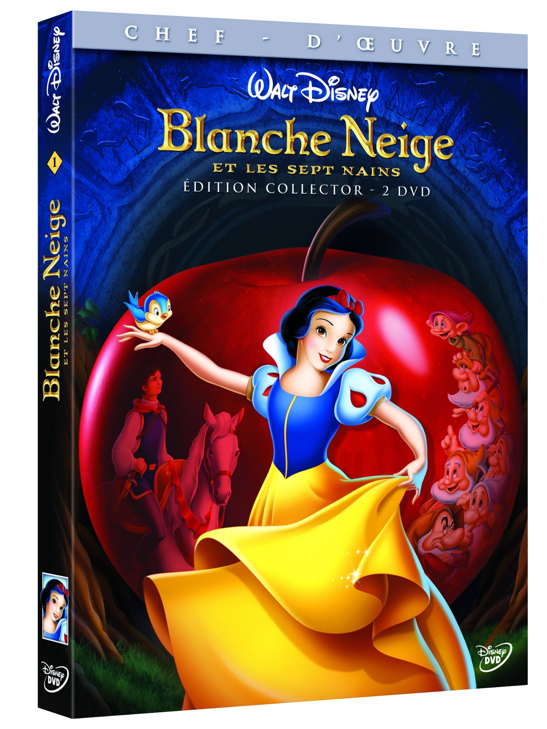 blanche neige et les 7 nains en dvd blu ray. Black Bedroom Furniture Sets. Home Design Ideas