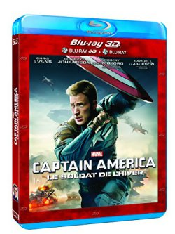 Captain America 2 - Blu Ray 3D
