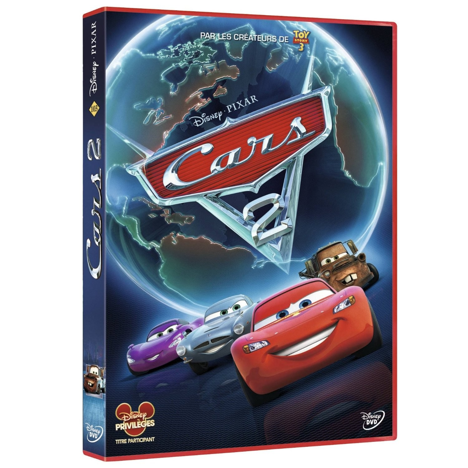 cars 2 en dvd blu ray. Black Bedroom Furniture Sets. Home Design Ideas