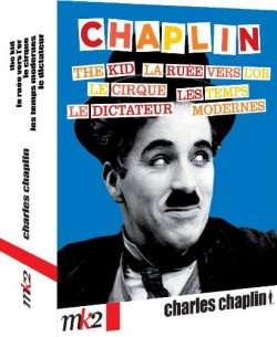 Coffret Chaplin Blu Ray