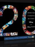 Coffret Disney-Pixar 20 films - Blu Ray