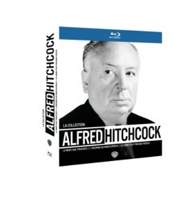 Coffret Hitchcock Warner - Blu Ray