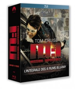 Coffret Mission Impossible Blu Ray