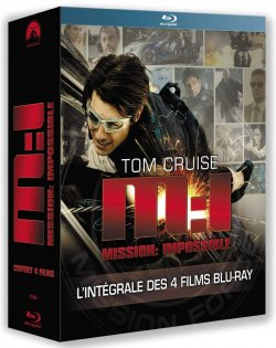 Mission Impossible : La quadrilogie Blu Ray