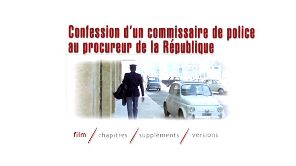 Test dvd confession d 39 un commissaire de police au - Grille de salaire commissaire de police ...