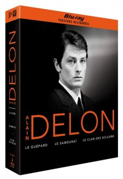 Delon - Coffret 3 Blu Ray