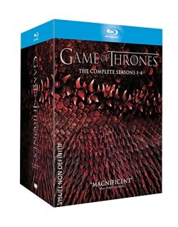 Game of Thrones, L'intégrale des Saisons 1 à 4 en Blu Ray