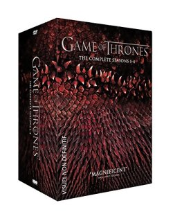 Game of Thrones, L'intégrale des Saisons 1 à 4 en DVD