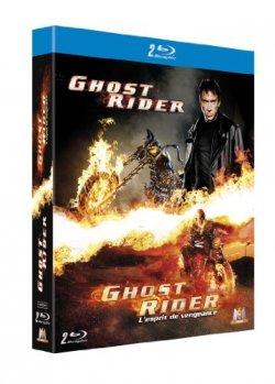 Ghost Rider + Ghost Rider 2 - Coffret Blu Ray