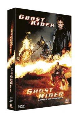 Ghost Rider + Ghost Rider 2 - Coffret DVD