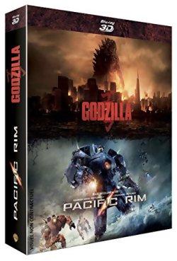 Godzilla + Pacific Rim - Coffret Blu Ray 3D