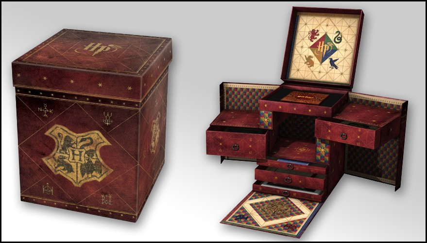 harry potter le coffret blu ray ultime. Black Bedroom Furniture Sets. Home Design Ideas
