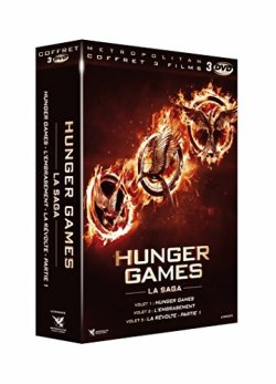 Hunger Games - Trilogie DVD
