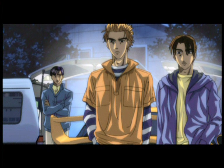 Initial d fourth stage episode 1 sub indonesia : Beauty and