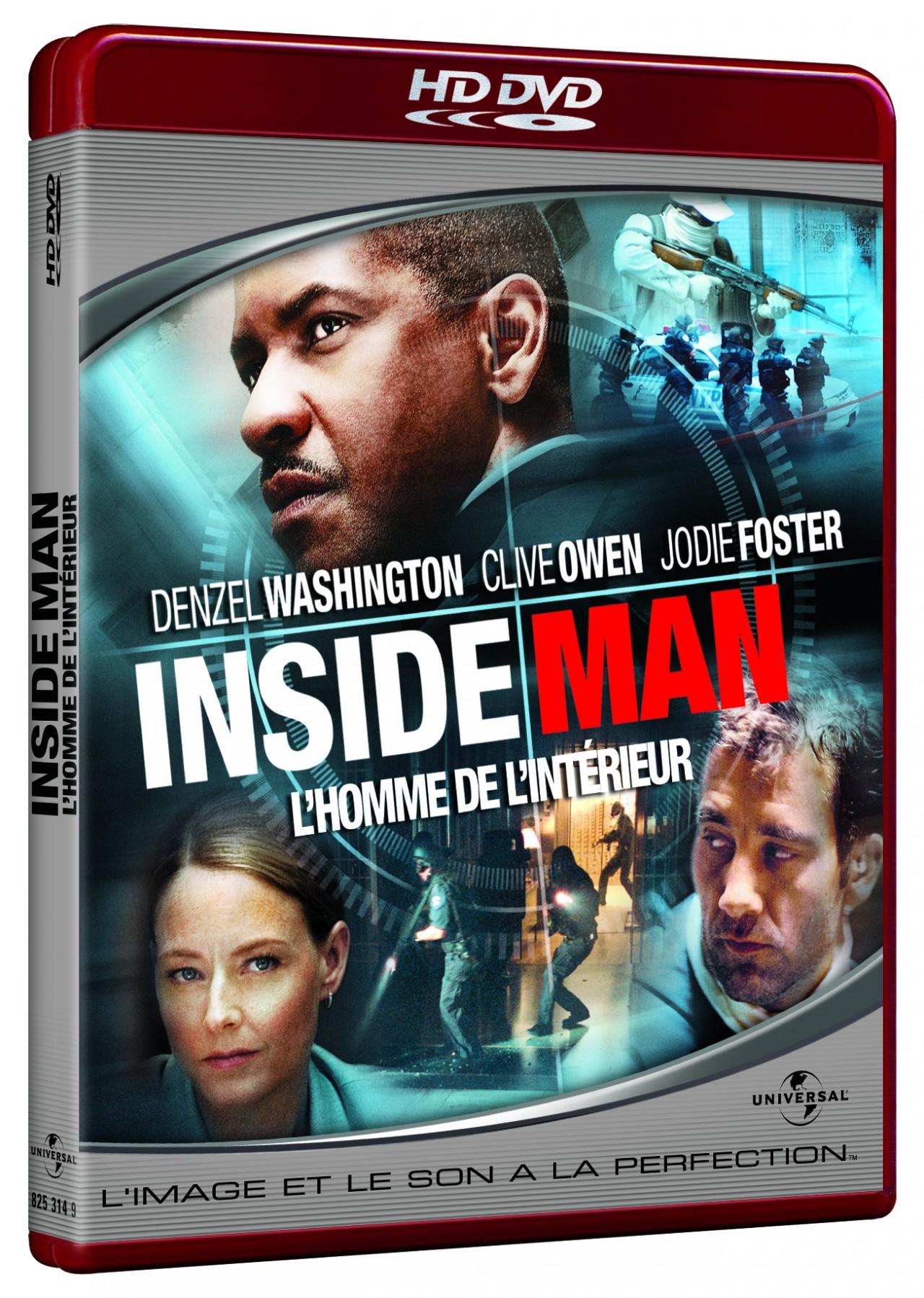 Inside man l 39 homme de l 39 int rieur en dvd blu ray for Inside 2007 dvd