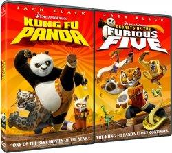 Kung Fu Panda / Secrets of the Furious Five (2 DVD)