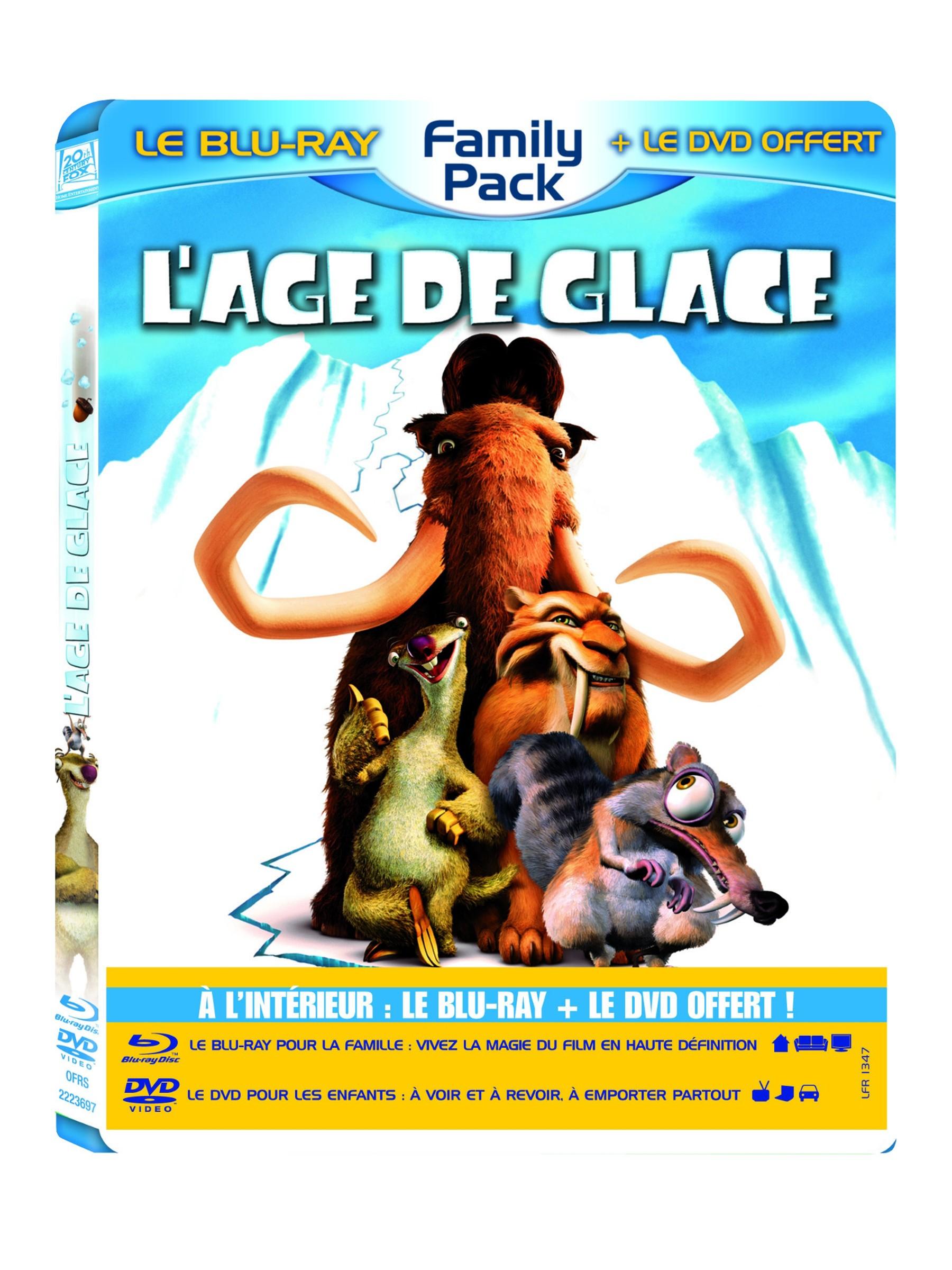 Age de Glace 3 - Le temps des dinosaures en Dvd & Blu-Ray