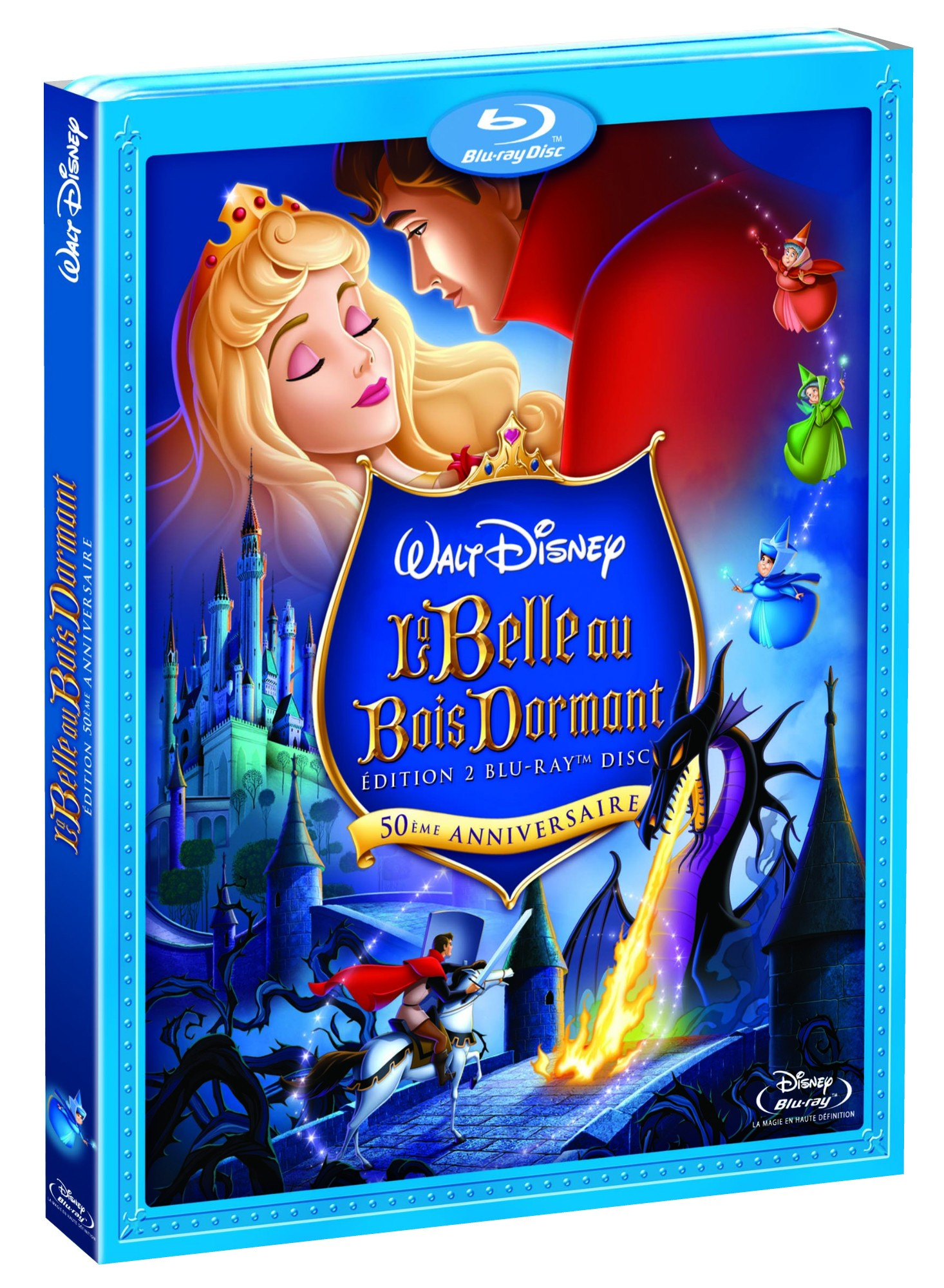 La Belle au bois dormant en Dvd & BluRay ~ La Belle Au Bois Dormant Dvd
