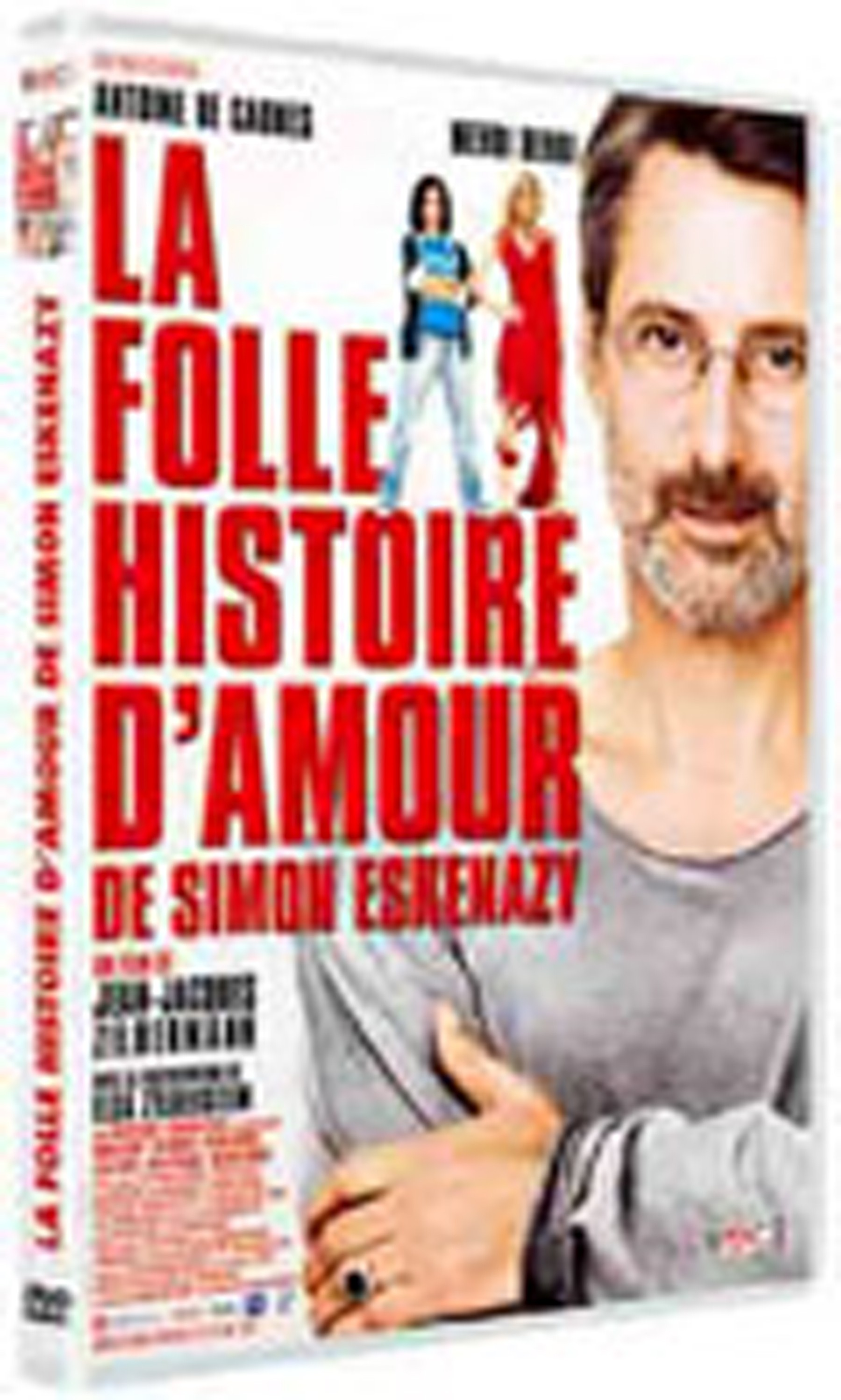 la folle histoire d 39 amour de simon eskenazy en dvd blu ray. Black Bedroom Furniture Sets. Home Design Ideas