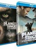 La Planète des Singes : L'Affrontement + Les Origines - Blu Ray