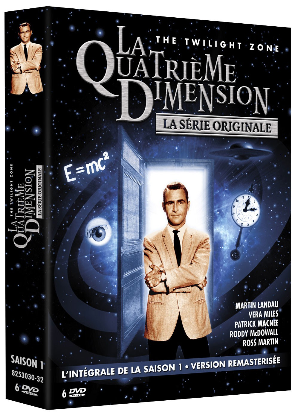 critique et test dvd de la s rie la quatri me dimension saison 1. Black Bedroom Furniture Sets. Home Design Ideas