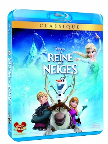 frozen la reine des neiges en dvd blu ray. Black Bedroom Furniture Sets. Home Design Ideas