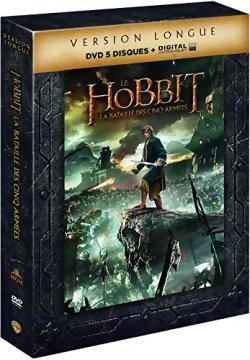 Le Hobbit : La bataille des cinq armées Version longue - DVD (Edition Collector)