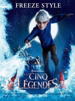 Les cinq légendes - DVD