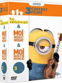 Les Minions + Moi, Moche Et Méchant 1& 2 - DVD