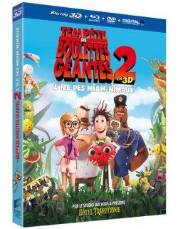 L'île des Miam-nimaux : Tempête de boulettes géantes 2 - Blu-ray 3D