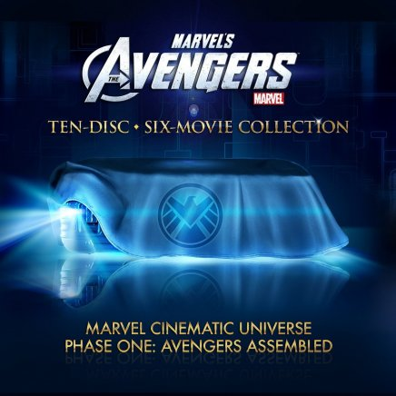 Le coffret Marvel Collector en Blu Ray